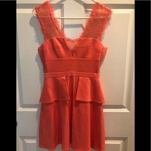 NWOT BCBG MaxAzria Coral Size 2 Dress